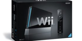 Wii console (black) (Wii remote controller jacket included) (RVL-S-K) [manufacturer discontinued]