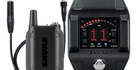 [Domestic regular goods] SHURE GLX-D bodypack wireless system GLXD6 guitar pedal comes GLXD16J