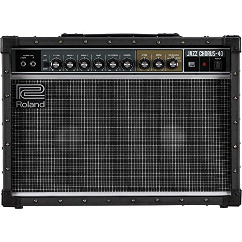 It polished the ROLAND JC-40 guitar amplifier