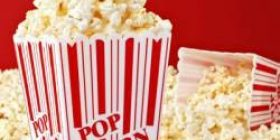 Fun too Warota wwww throw popcorn to guy in front of the seat in a movie theater