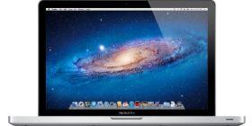 APPLE MacBook Pro 15.4/2.6GHz Quad Core i7/8 GB / 750 GB / 8 xSuperDrive DL MD104J/A