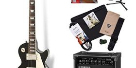 Set includes: electric guitar primer set limited edition Epiphone LPStd EB Les Paul electric guitar beginner set Yamaha amp set (Epiphone) online store