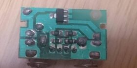 [Image] There processing of solder Toka parts of the legs of the product of 100 yen SHOP was terrible