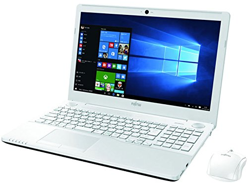 Fujitsu 15.6-notebook computer LIFEBOOK ah53/ premium white (Home Office Business Premium Plus Office 365) fmva53w