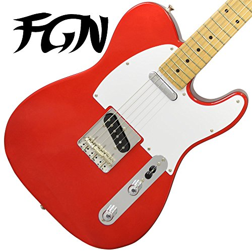 FgN fujigen Telecaster Electric Guitar J-Classic JTL6M CAR (Candy Apple Red) [made in Japan]