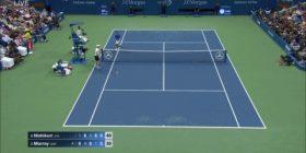 [GIF] Murray, net tapping of anger lost to Kei Nishikori wwwwwwwwwwwwwww