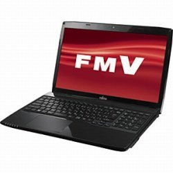 Fujitsu LIFEBOOK AH53/M with a Office FMVA53MB (shiny black)