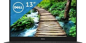 Dell mobile laptop XPS 13 9360 Core i7 model silver 17Q32/Windows10/13.3 inch FHD / in realization of frameless 8GB/256GB SSD
