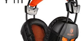 SADS Gaming Headset PS4 (PlayStation 4) headphone 3.5 mm connector high sound and microphone with microphone position 360 degree adjustable head-arm flexible high-quality wear-resistant material PlayStation 4 PS4 Tablet laptop iPhone smart phones, such as 2016 new gaming headset SA921 was born from the