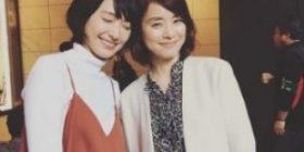 """Yuriko Ishida, echo the two-shot of the Yui Aragaki """"Both of them beautiful."""""""