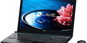 Japan NEC LAVIE Note Standard-NS850 / BAB Crystal Black PC-NS850BAB