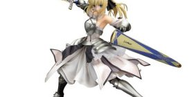 All fate/unlimited codes Saber Lily distant utopia (PVC figure) 1 / 7 scale three-dimensional appearance of another popular released