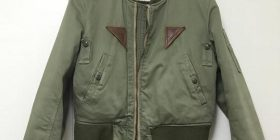[Yes] image wwww I went high school wearing this flight jacket
