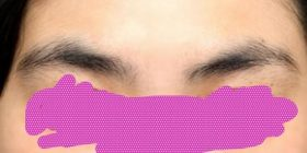 [Yes] image or to year-end and New Year holidays do not fit with anyone do not have to eyebrows processing → result wwwww