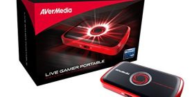 AVerMedia Live Gamer Portable, Full HD 1080 p Recording Without PC Directly to SD Card, Ultra Low Latency H.264 Hardware Encoding, USB Video Capture, High Definition Game Capture, Recorder, Streaming (C875)