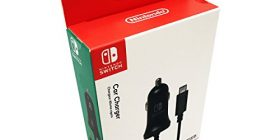 Nintendo Switch High Speed Car Charger by HORI Officially Licensed by Nintendo