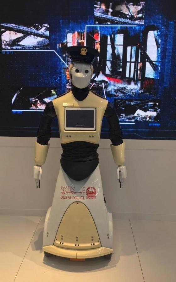 [Animation] Robocop running start in Dubai.