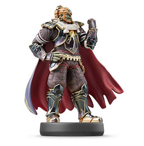 Amiibo Super Smash Bros. Ganondorf Figure for Nintendo Wii U/3 DS