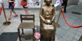 """South Korean opposition party """"Foreigners have laughed to see the comfort women image"""""""