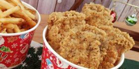 [Good news] class first Xmas menu wwwwwwwwwwww → fried chicken with sushi, potato, tree parfait wwwwwwwwwwwwwwwwwwwwwwwwww