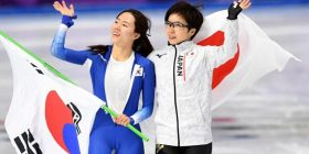 Olympic hug defies animosity between South Korea and Japan as fans hail 'borderless friendship' – Telegraph.co.uk