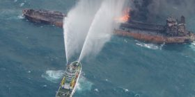 Oil clumps wash ashore in Japan after tanker carrying 1 million barrels sinks – NBCNews.com