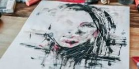 """Wai """"Na this model's cute"""" picture Jan people """"Jan painting"""""""