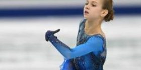 Ridiculous in the women's figure Russian 13-year-old will come out, women's first 2 degrees 4 rotation