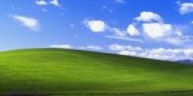 "It's ""prairie"" of XP I masterpiece of PC wallpaper"