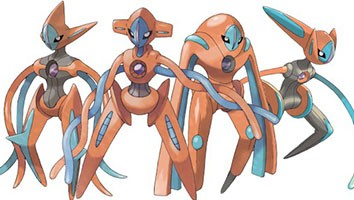 Turned out to be the ideal of style when the race value of Deoxys Pokemon in three sizes