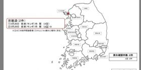 【Notice from Ministry of Agriculture, Forestry and Fisheries】 (Caution) Foot and Mouth Disease is occurring in Korea