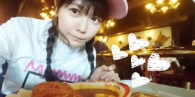 【Image】 Voice actor · Ayana Takehito (29), I eat a large cutlet curry