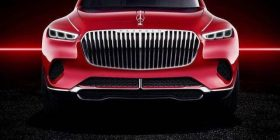 Mercedes Benz presents the best Maubach luxury SUV in Beijing