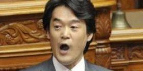 """Konishi """"From the incumbent SDF"""" You are the enemy of the people! """"It was said!"""""""
