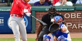 Shohei Otani, timely hit in the first bat! 2 batting: striking 3 bats: rebounding 4 bats: quarter ball