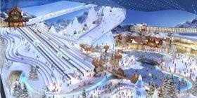 The world's largest ski resort open in Shanghai is too wwwwww