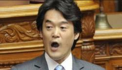 "Konishi ""From the incumbent SDF"" You are the enemy of the people! ""It was said!"""