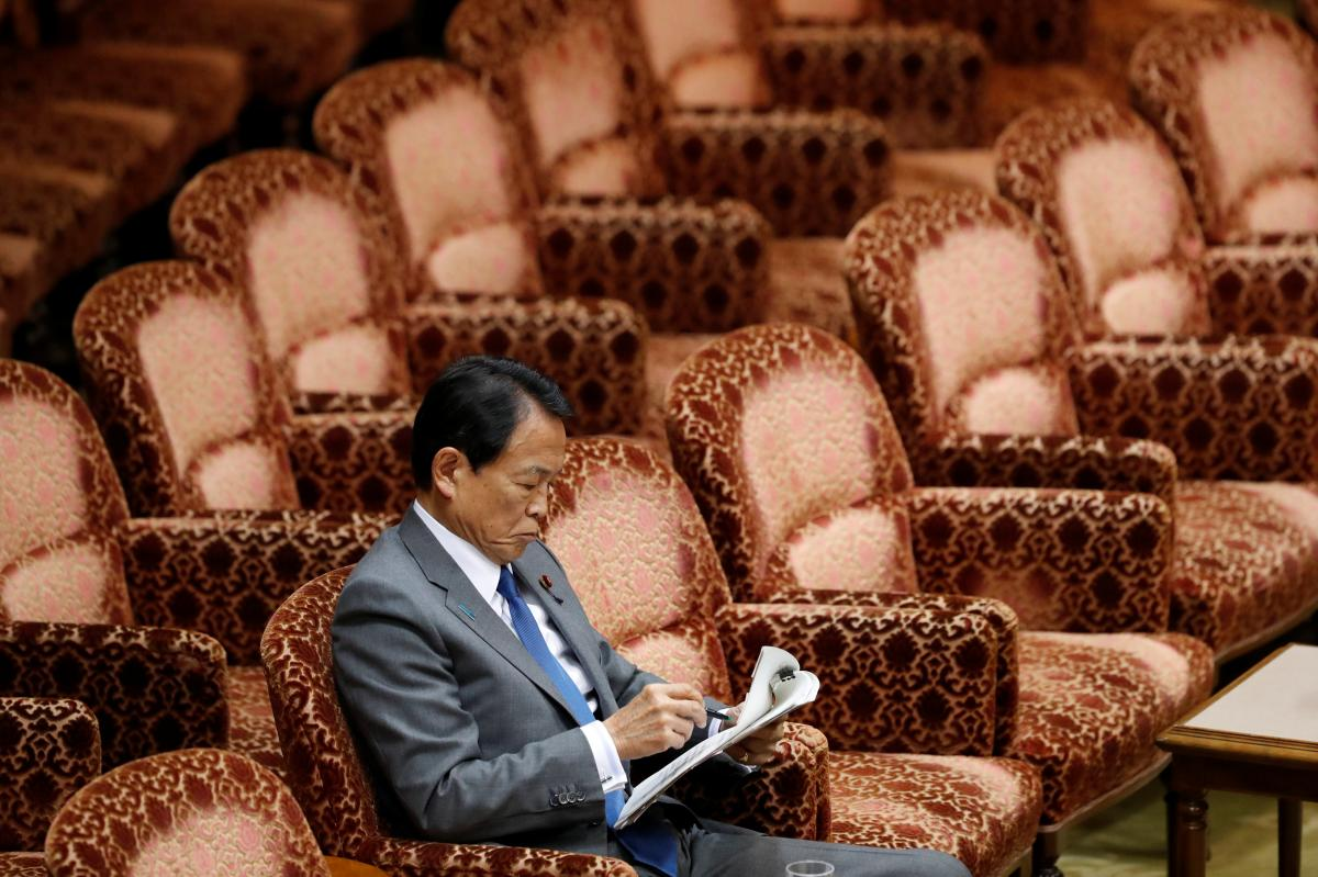 Top Japan Finance Official Denies Sexual Harassment, Says to Sue Publisher – U.S. News & World Report