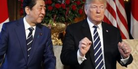 Trump backs North-South Korea peace talks in summit with Japan's leader at Mar-a-Lago – USA TODAY