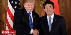 Trump, Japan's Abe seek consensus on North Korea amid strains – Reuters