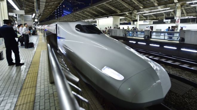 Japanese train departs 25 seconds early – again – BBC News