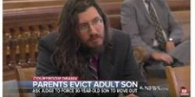"""30-year-old trial on Neit's son seeking """"home eviction"""". → Parents won the w"""
