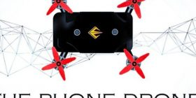 A case where a sudden change is made to the drones by sensing the fall of the smartphone appears wwwwww