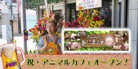 Big Yo-yo bar Make real animal cafe open