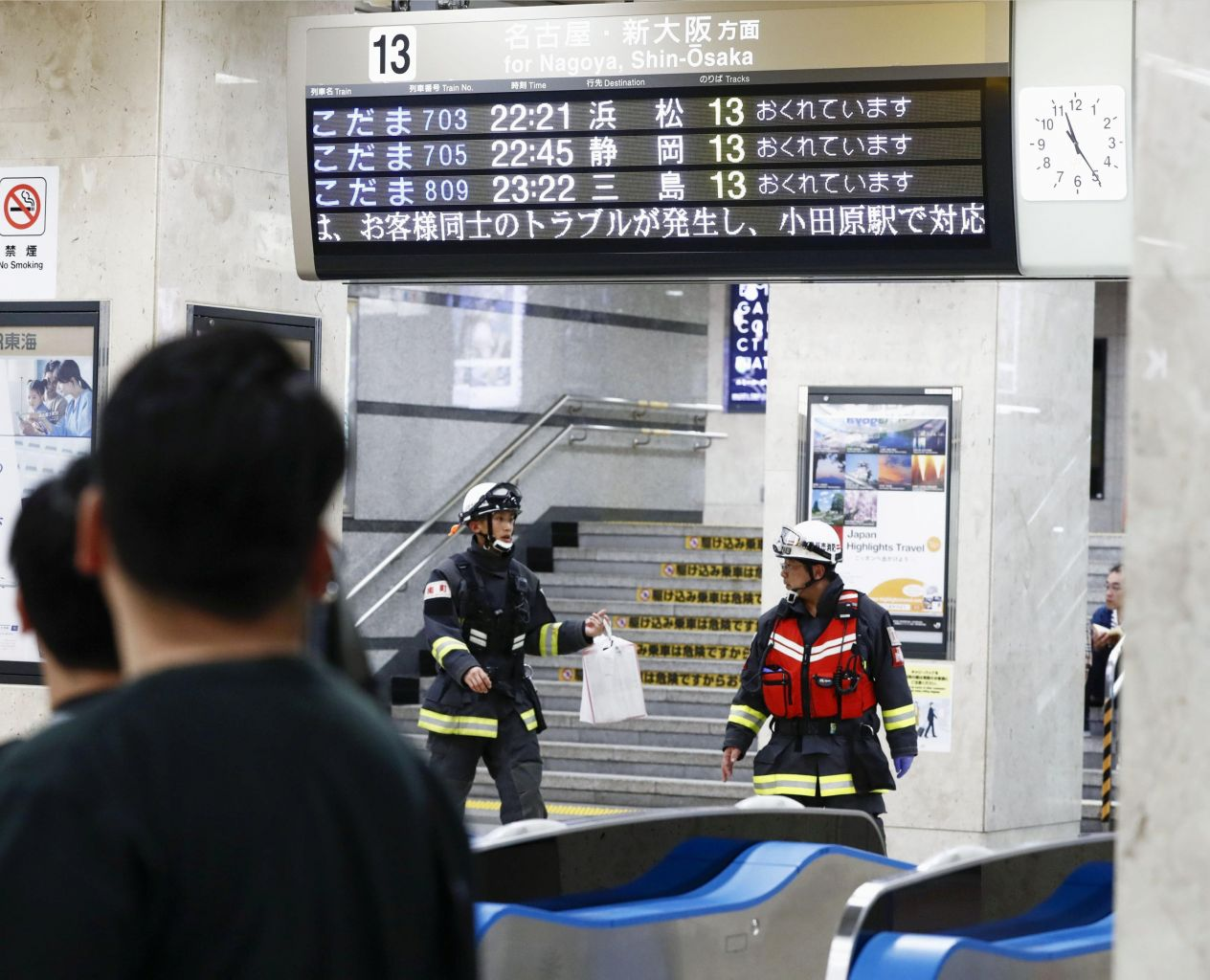 Anyone will do: 22-year-old man nabbed for stabbings on Japan bullet train that left one dead – The Straits Times