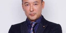 "Mr. Wada ""Mr. Taro Yamamoto takes away the manuscript of the cabinet chairman, destroys the microphone, strongly grabs the arm and hands of the Cabinet Committee"""