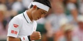 Kei Nishikori wins the best 8 at the Wimbledon Championships For the first time in 23 years since Masaoka Shuzo of 95 years