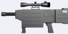 Succeeded in developing a laser beam gun with a weight of 3 kilograms that China can carbonize humans with a range of 800 m