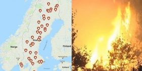【Sad news】 The whole country of Sweden, burned down