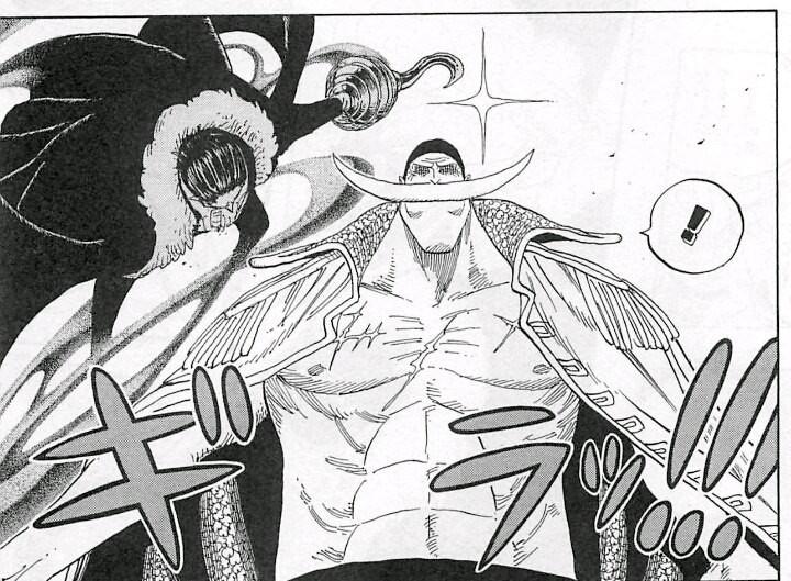 Crocodile movement in One Piece summit war